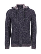 Picture of No Excess Hooded Knit Cardigan