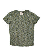Picture of No Excess Abstract Stripe Tshirt in Green