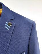 Picture of Au Noir Textured Navy Dicaprio Jacket