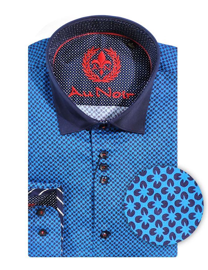 Picture of Au Noir Corelli Navy Shirt