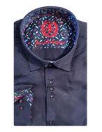 Picture of Au Noir Tomassi Navy Shirt