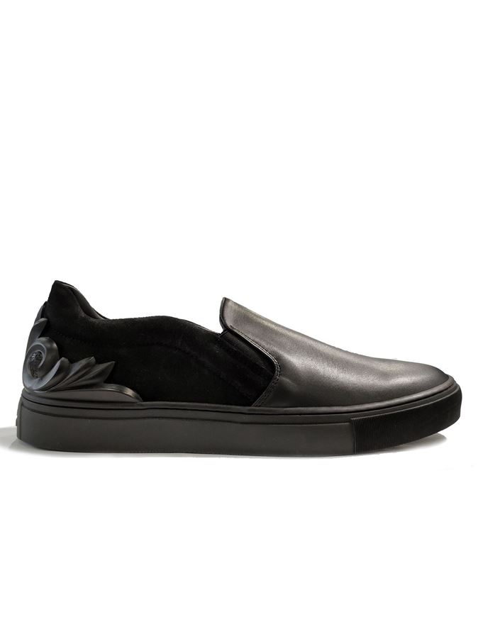 Picture of Versace Baroque Slip-Ons