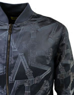 Picture of Versace Jeans Navy Columns Bomber