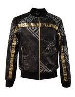 Picture of Versace Greek Key Logo Tape Bomber
