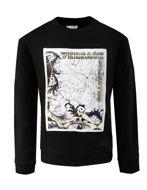 Picture of Versace Marble Black Sweatshirt
