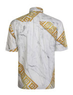 Picture of Versace Greek Marble S/S Shirt