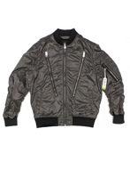 Picture of Diesel Bomber Zip Silver Jacket