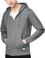Picture of Diesel Hood Zip Sweat Lounge Jacket