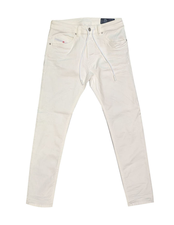 Picture of Diesel Thommer White Jogg Jeans