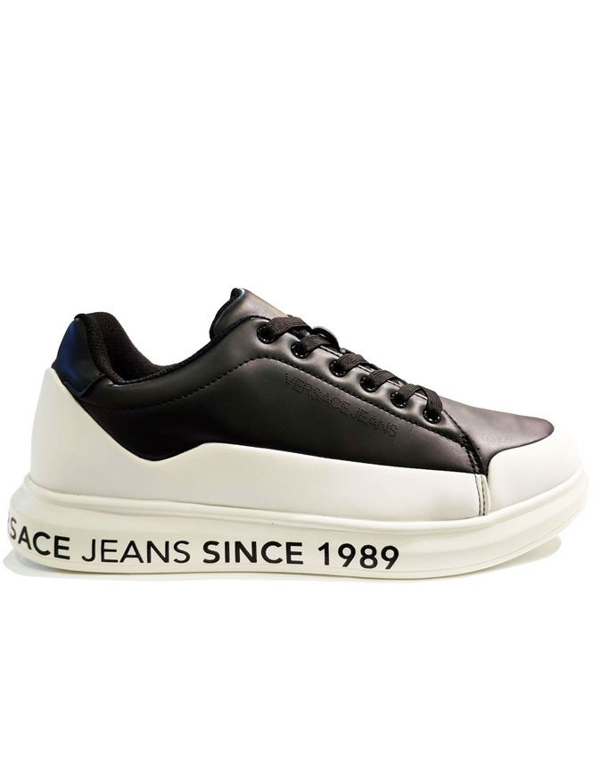 Picture of Versace Jeans Light Comfort Black Sneaker