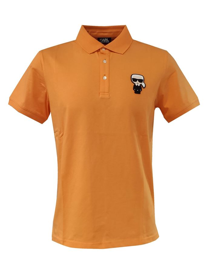 Picture of Karl Lagerfeld Ikonik Orange Polo