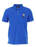 Picture of Karl Lagerfeld Ikonik Blue Polo