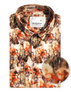 Picture of No Excess Floral Print L/S Shirt