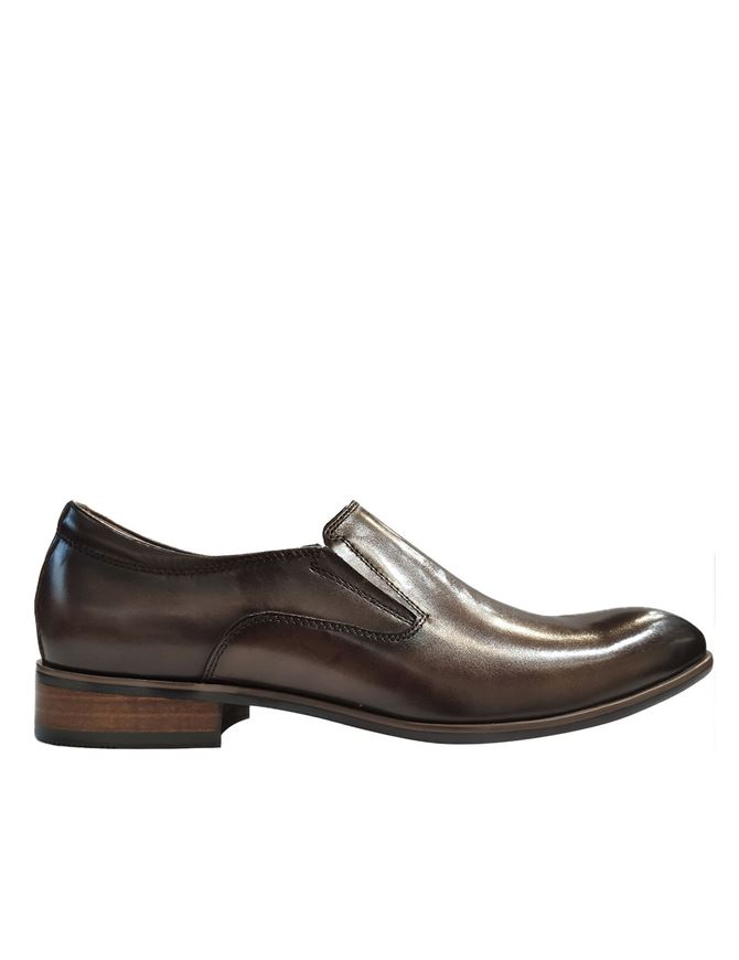 Picture of Cutler Tan Loafer Gusset Shoes