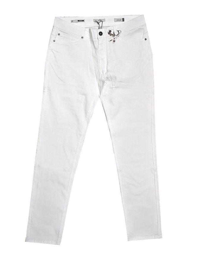 Picture of Gaudi White Stretch Skinny Jean