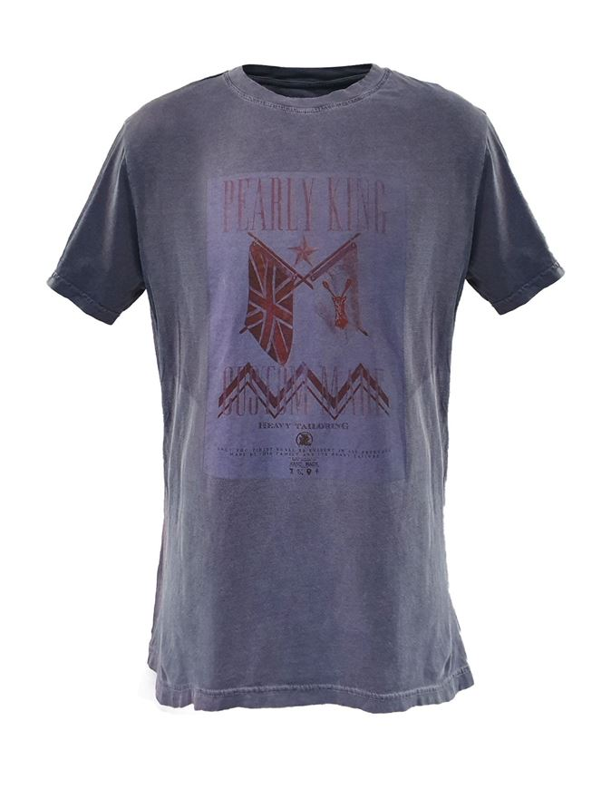 Picture of Pearly King Flagged Print Tee