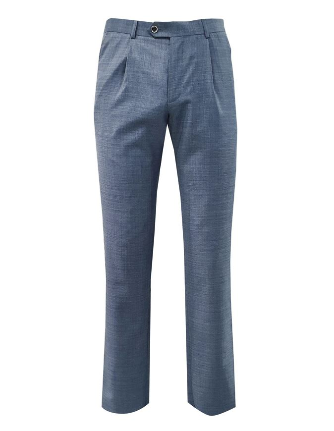 Picture of Ted Baker Blue Tight Line Trouser