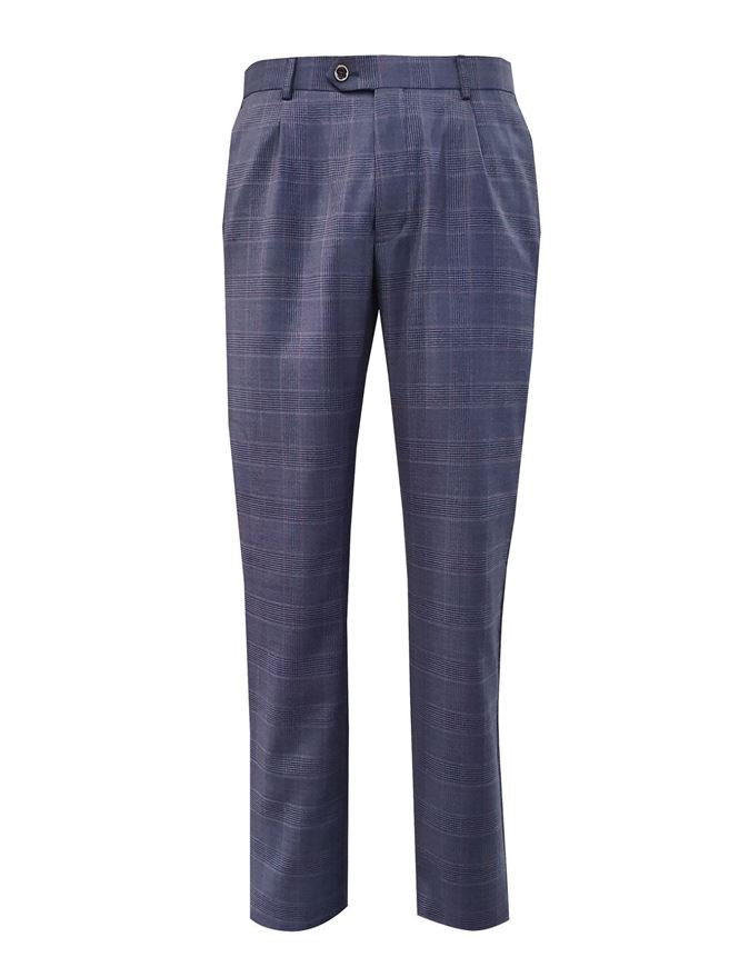 Picture of Ted Baker Check Tight Line Trouser