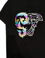 Picture of Versace Medusa Print Polo