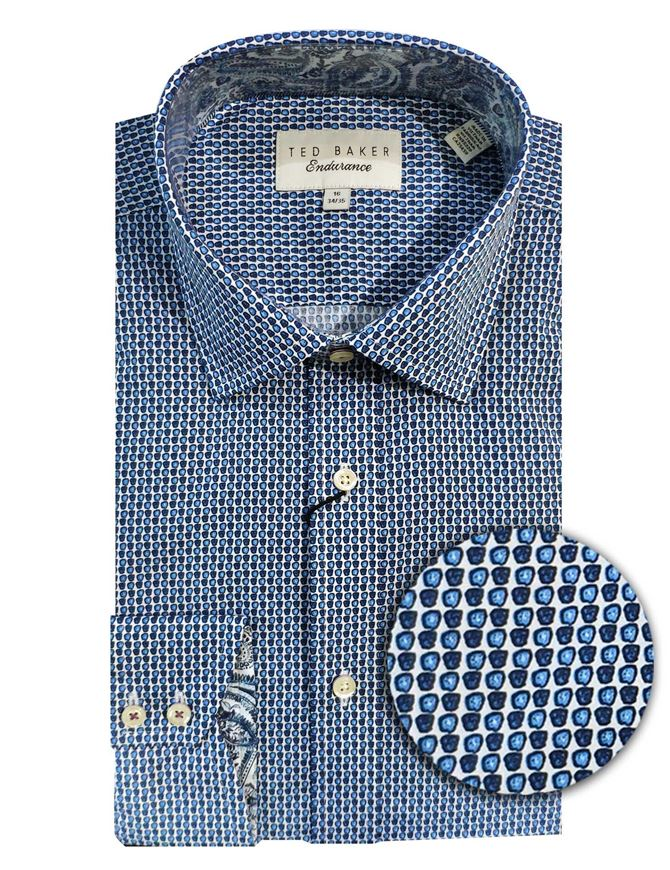 Picture of Ted Baker Geo Print Shirt