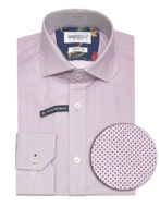 Picture of Brooksfield Pink Circle stretch Shirt