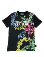 Picture of Versace Jeans Couture Baroque Slim T-Shirt