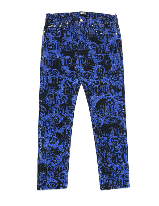 Picture of Versace Jeans Couture Baroque Stretch Jean