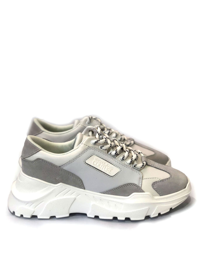 Picture of Versace Jeans Couture Speed Leather White Sneaker
