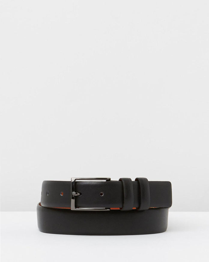 Picture of Loop Black 30mm Double Keepers Belt