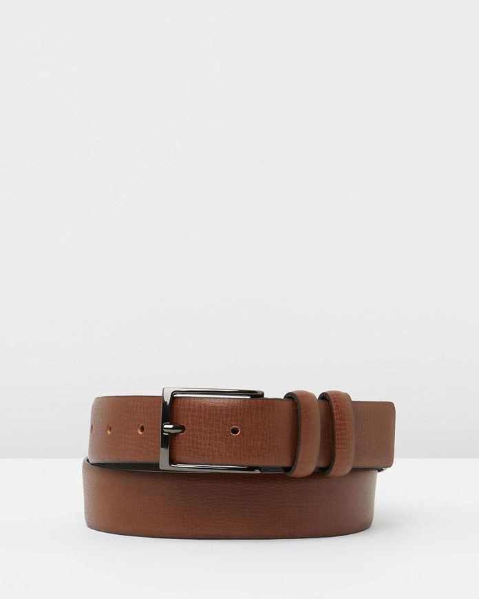 Picture of Loop Tan 30mm Double Keepers Belt