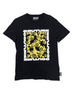 Picture of Versace Jeans Couture Baroque Black Extra Slim T-Shirt