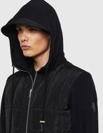 Picture of Diesel Bella Hood Sweat Jacket