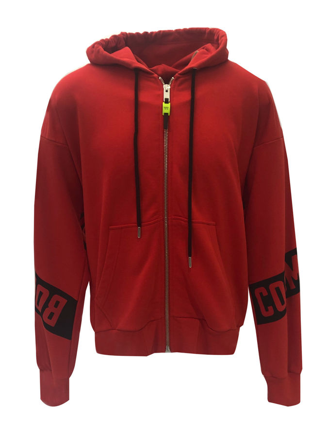 Picture of Diesel Red S-Alby Zip Sweat Jacket