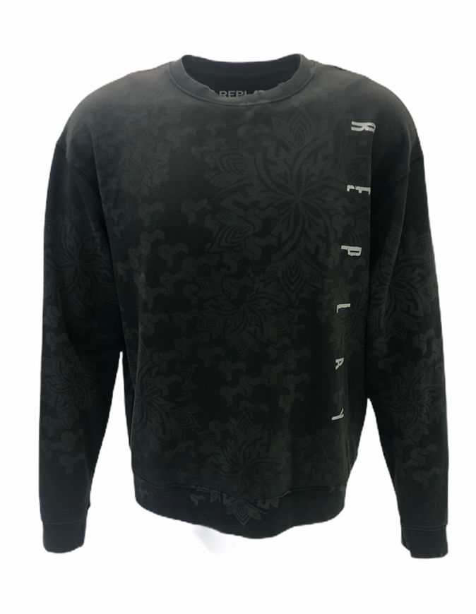 Picture of Replay Edges Cut Sweatshirt