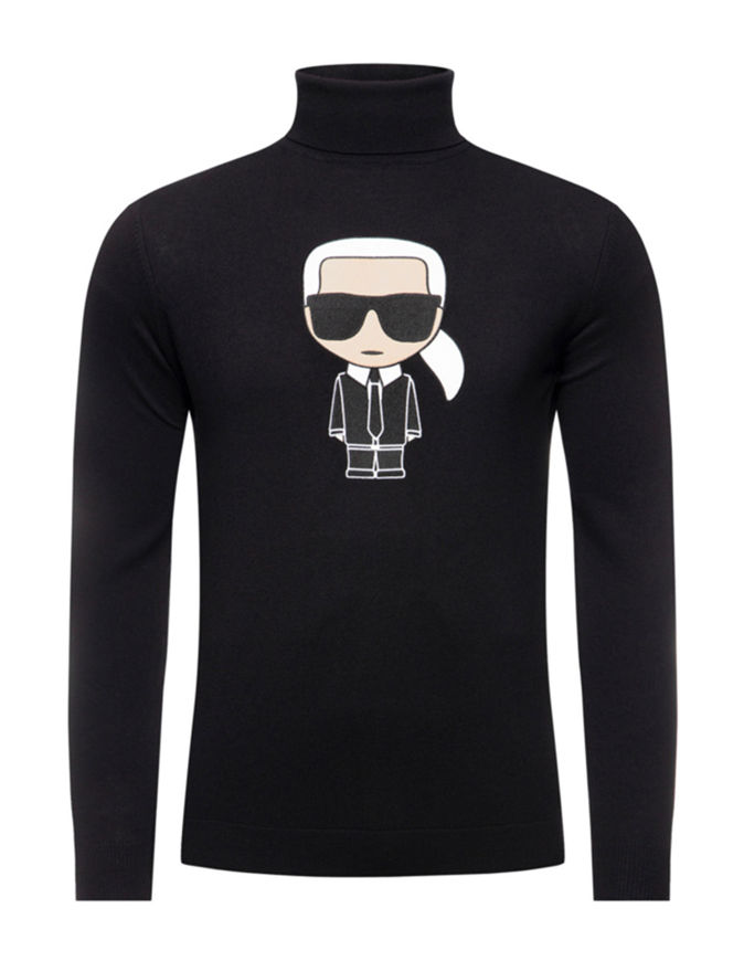 Picture of Karl Lagerfeld Ikonic Turtle Neck Knit