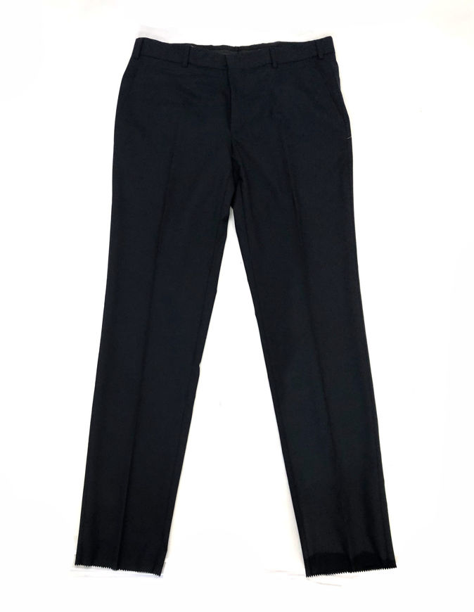 Picture of Lagerfeld Pure Italian Wool Navy Trouser