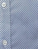 Picture of Brooksfield Navy Blue Dots Stretch Real Shirt