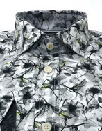 Picture of Brooksfield Floral Print Luxe Shirt