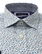 Picture of Brooksfield Mini Floral Print Luxe Shirt