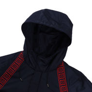 Picture of Versace Hooded Tape Jacket