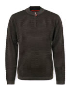 Picture of No Excess Jacquard Knit Sweater