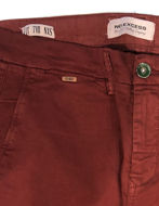 Picture of No Excess Washed Slim Stretch Plum Pant