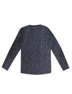 Picture of No Excess Button Crew Neck Long Sleeve Tshirt