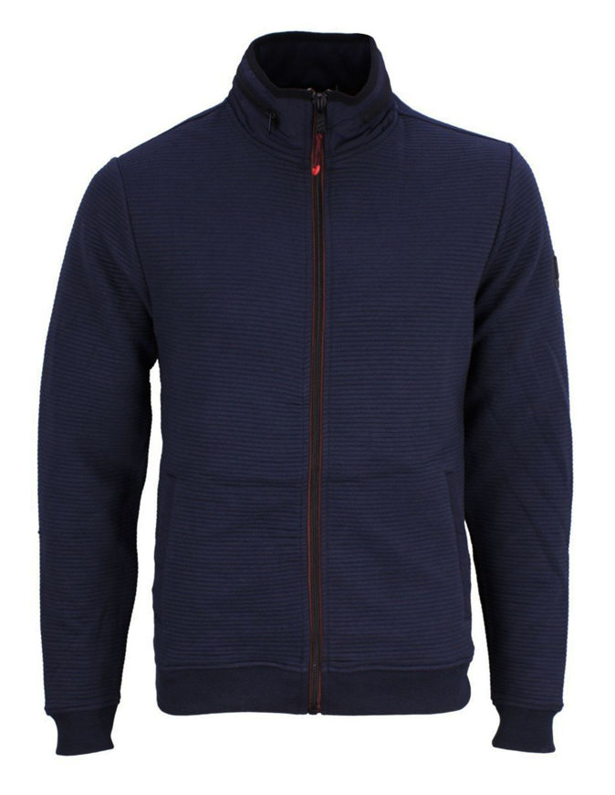 Picture of No Excess Zip Knitted Sweatshirt