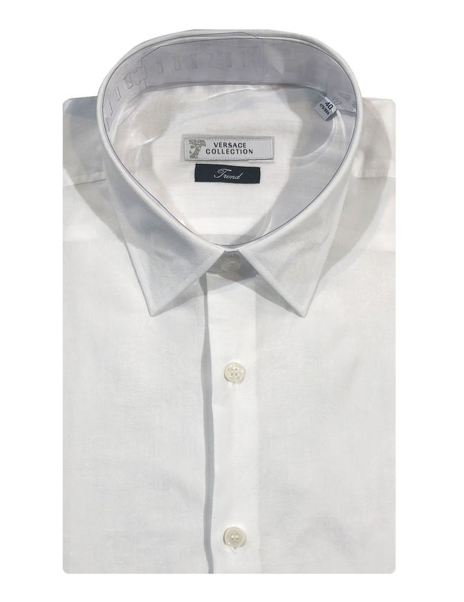 Picture of Versace Luxury Broque Cotton Shirt