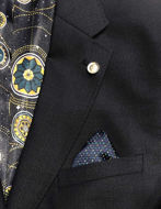 Picture of Ted Baker Textured Navy Suit