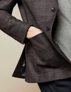 Picture of Ted Baker Red Check Weave Jacket