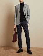 Picture of Ted Baker Silver Herringbone Jacket