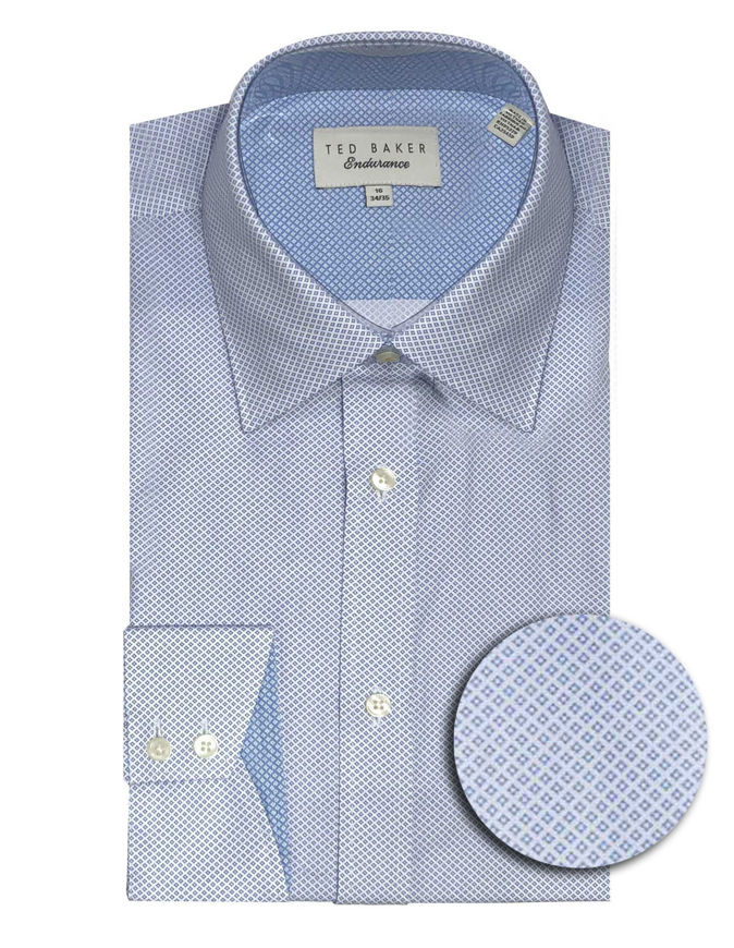 Picture of Ted Baker Endurance Timeless Blue Shirt
