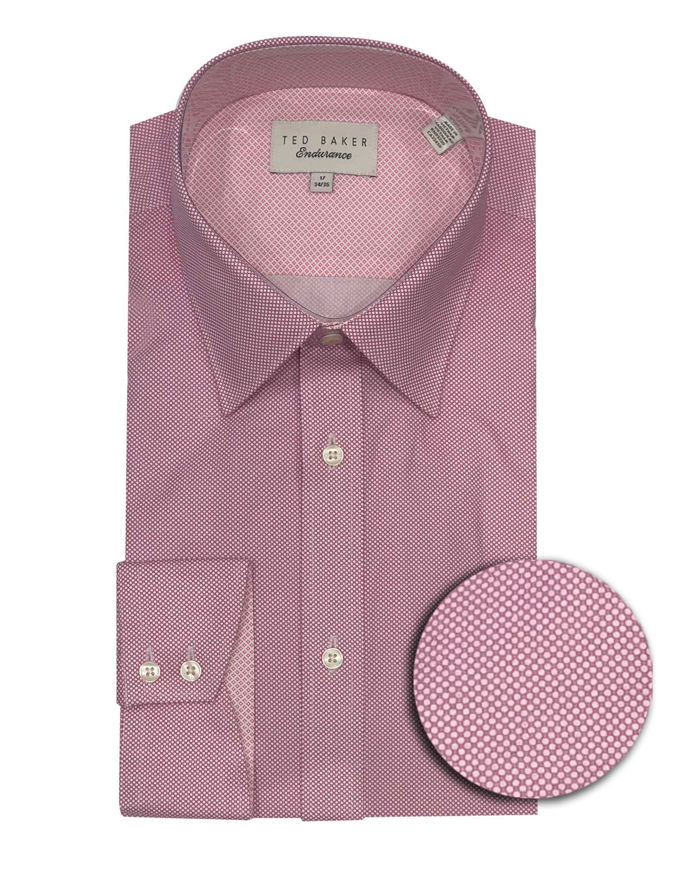 Picture of Ted Baker Endurance Geo Timeless Pink Shirt